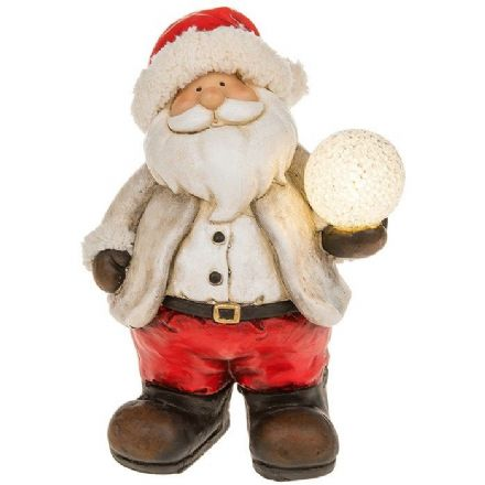 Snowball Large LED Santa